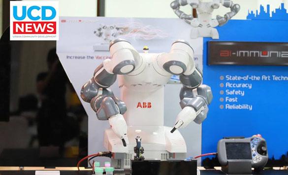 """มหิดลสร้างหุ่นยนต์ """"เอไอ-อิมมูไนเซอร์ """" ทดสอบภูมิคุ้มกันอัจฉริยะ"""