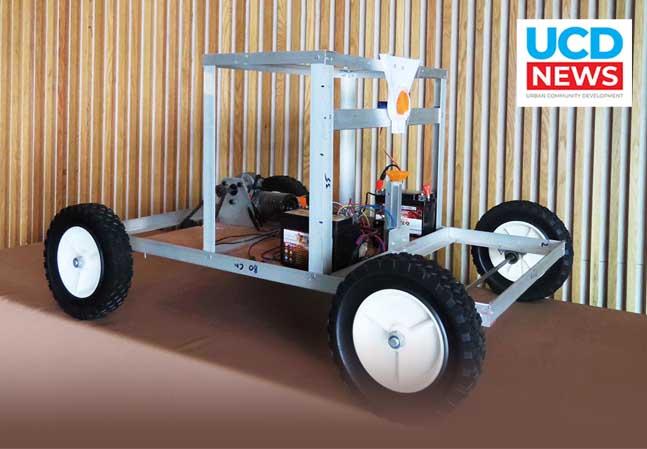วิศวะมหิดล สร้างหุ่นยนต์หยอดเมล็ดข้าวโพดอัตโนมัติ