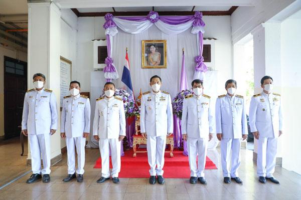 การรถไฟแห่งประเทศไทย จัดพิธีถวายพระพรชัยมงคลเนื่องในโอกาสวันเฉลิมพระชนมพรรษา สมเด็จพระนางเจ้าฯ พระบรมราชินี
